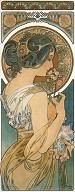 Pohled A. Mucha - Primrose