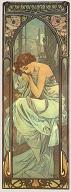 Pohled A. Mucha - Night´s Rest