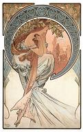 Pohled A. Mucha - Poetry